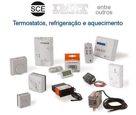 Termostatos, refrigeração e aquecimento