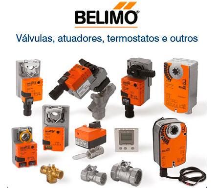 Válvulas, atuadores, termostatos e outros